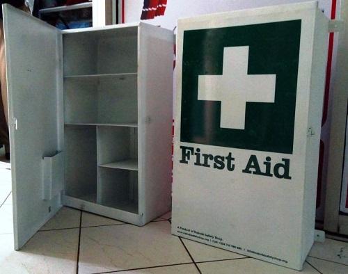 Large Mountable First Aid Kit