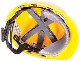 Helmet with wheel ratchet