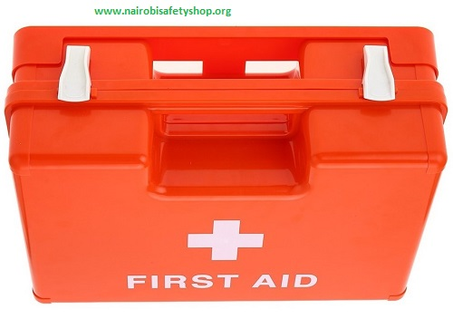 Medium Red First Aid Kit