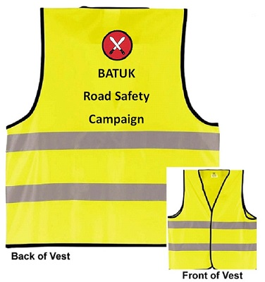 BRANDED SAFETY REFLECTIVE VEST