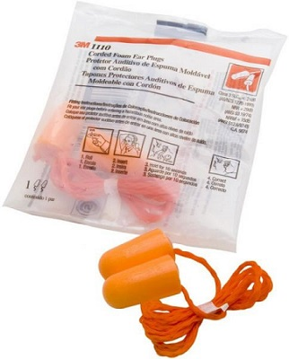3M Uncorded Foam Earplugs (3M1100)