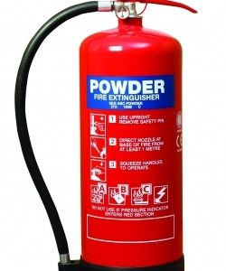6 kg dry powder fire extinguisher