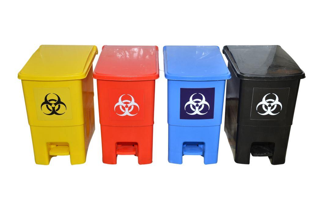 Bio Medical Waste Dustbin With Pedal