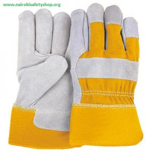 Construction Leather Gloves
