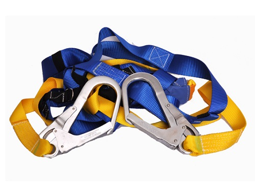 2 Lanyard Full Body Safety Harness