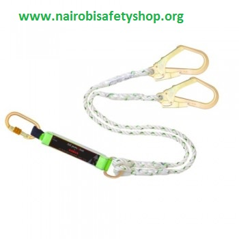 Harness Double Hook with a Shock Absorber