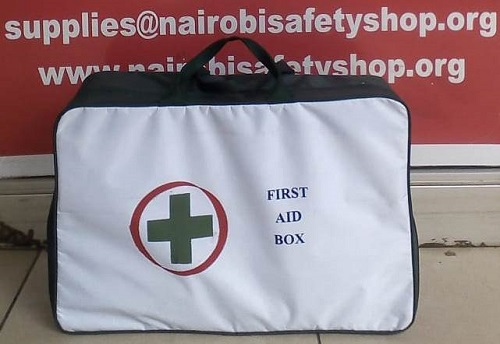 LARGE GREEN CANVAS FIRST AID KIT – Nairobi Safety Shop