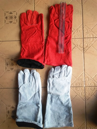 Leather Gloves With Inner Lining