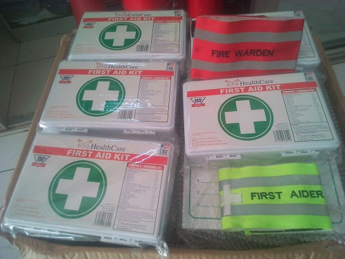 Small White First Aid Kit