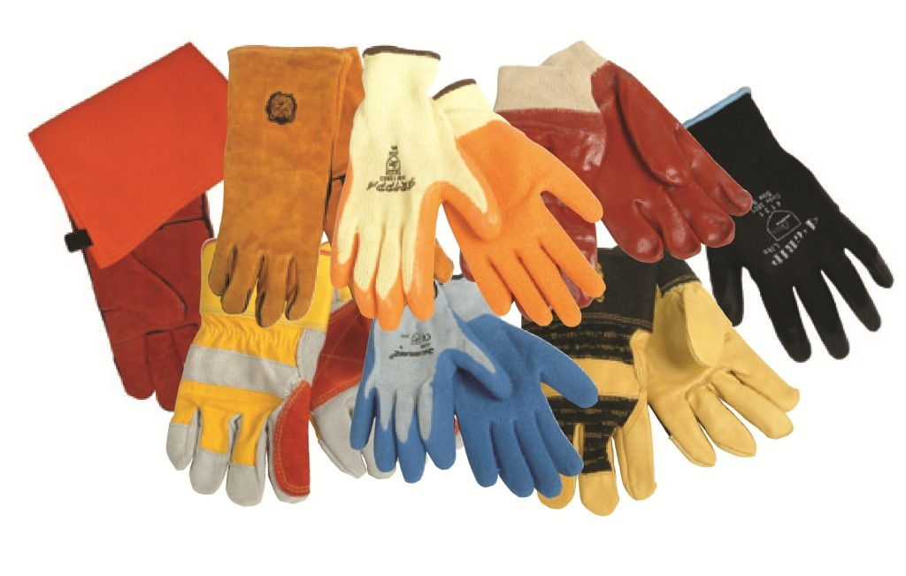 Assorted Industrial Gloves