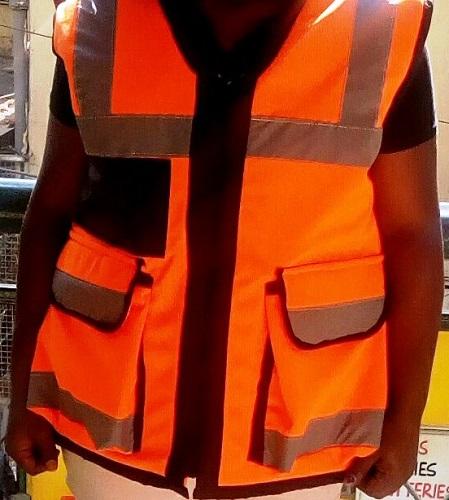 Heavy Duty Reflective Jacket