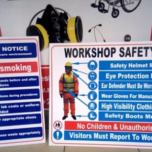 WORKSHOP SAFETY SIGNAGE