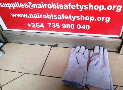 Leather Gloves 11 Inches