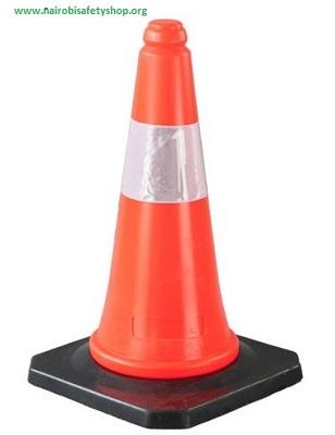 Road Cone 50cm LDPE Reflective