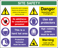 Construction Site Safety Signage