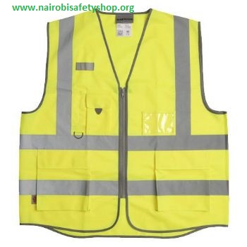 Hi vis executive reflector jacket