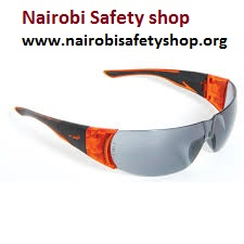 JSP Underworld Premium Safety Spectacles - Black Frame Clear UV400 Lens 8020