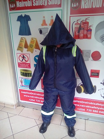 Cold Room Suit With Reflectors