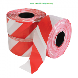Red White Barrier Tape