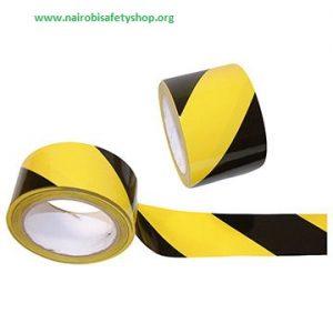Yellow Black Barriet Tape