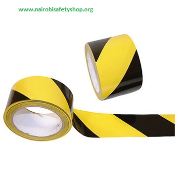 Yellow Black Barriet Tape