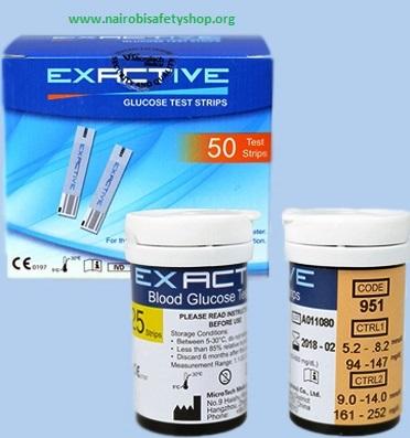 Exative Glucose Vital Test Strips