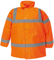 Orange Hi Vis Coat