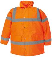 Orange Hi Vis Coat