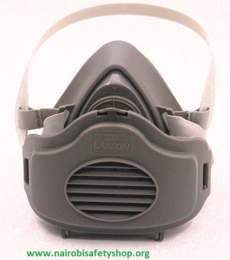 Lanxin Dust filter half face respirator rubber efficient gas mask 3600