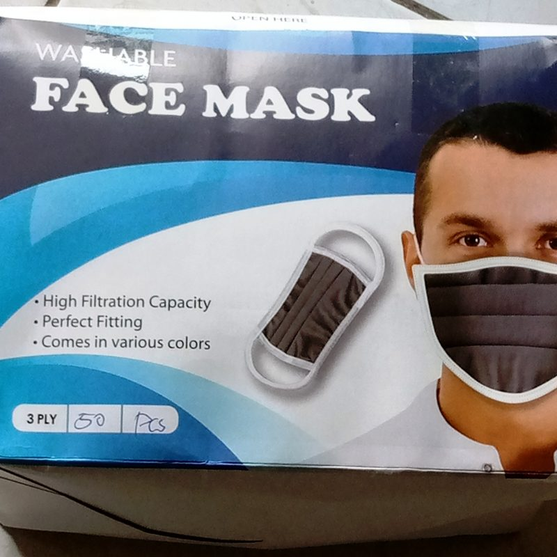 Face shield With Adjustable Head Strap