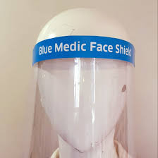 Blue Medic Face Shield