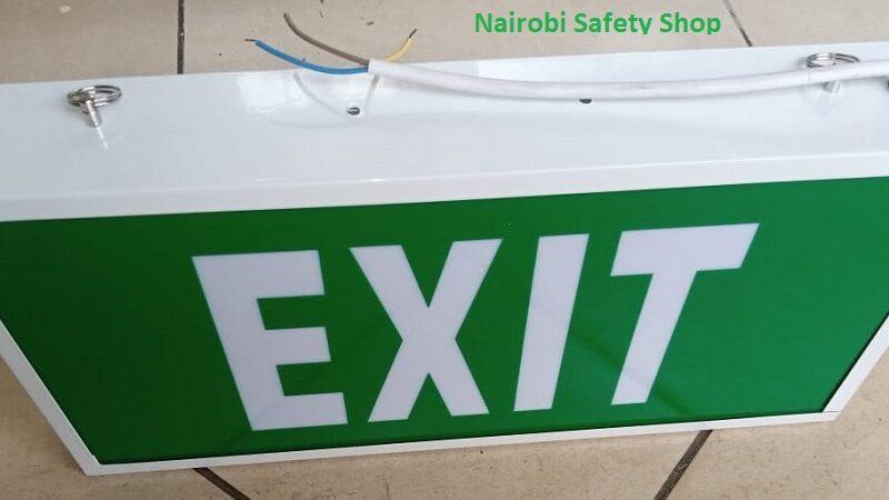 Fire Exit Box