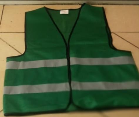 Dark Green Reflective Vest