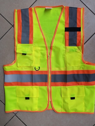 Designer Yellow Reflective Vest